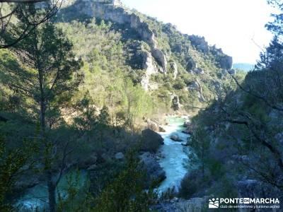 Hundido de Armallones - Alto Tajo; senderos de españa; material montañismo;fedme;senda del oso
